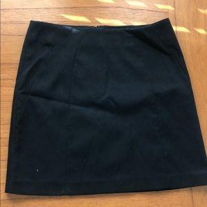 Navy Loft skirt